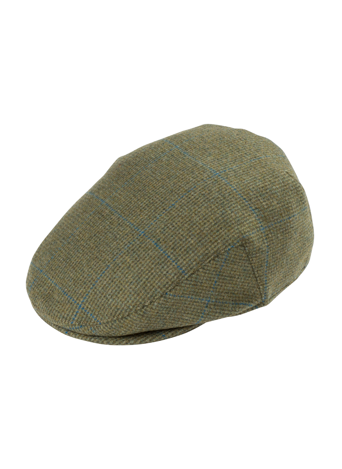 1e3f5e2263213 Alan Paine Combrook Lagoon Tweed Flat Cap - Bredon Hill Country