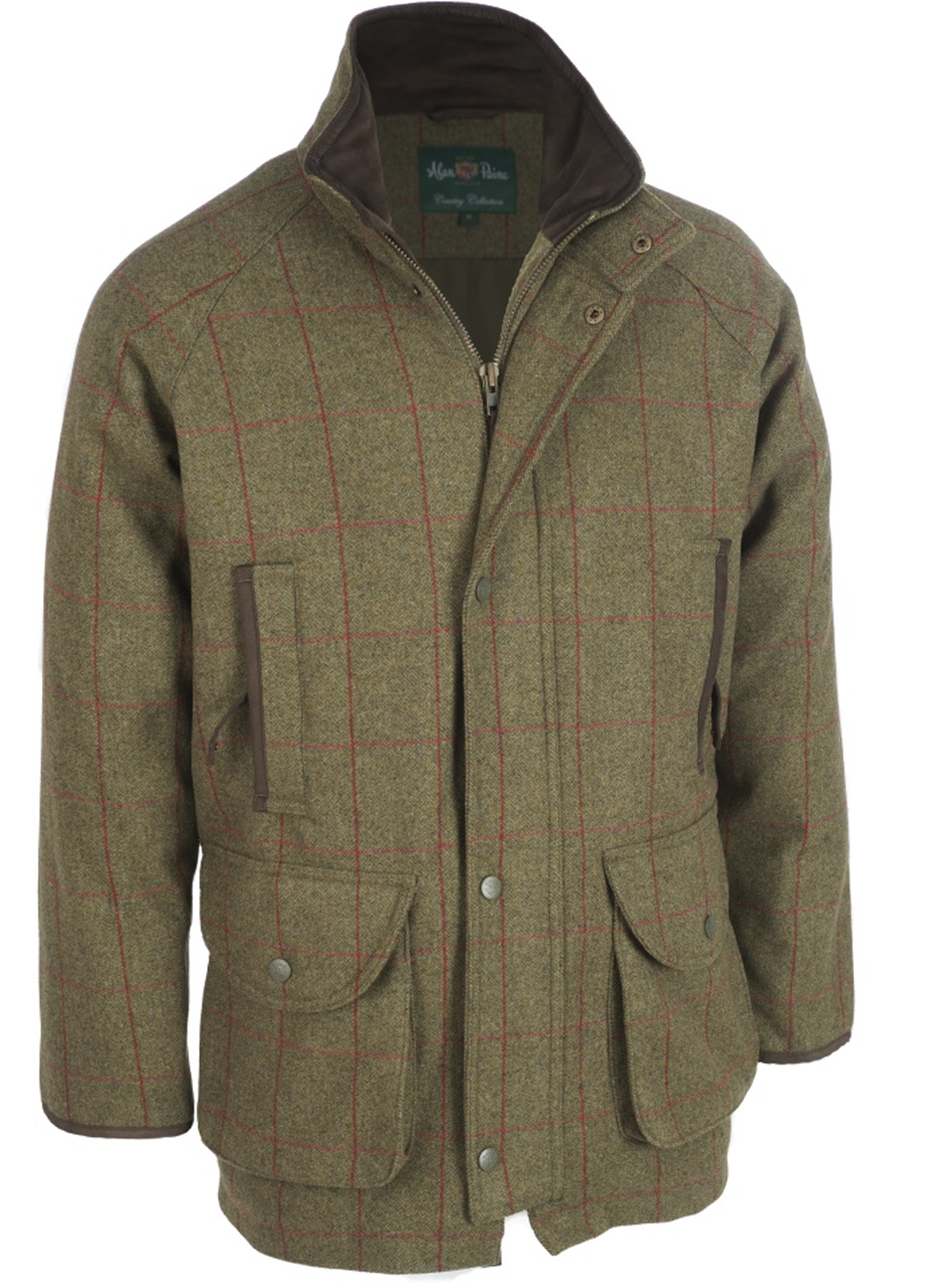 d0395fa40ae52 Alan Paine Combrook Sage Tweed Shooting Coat - Bredon Hill Country