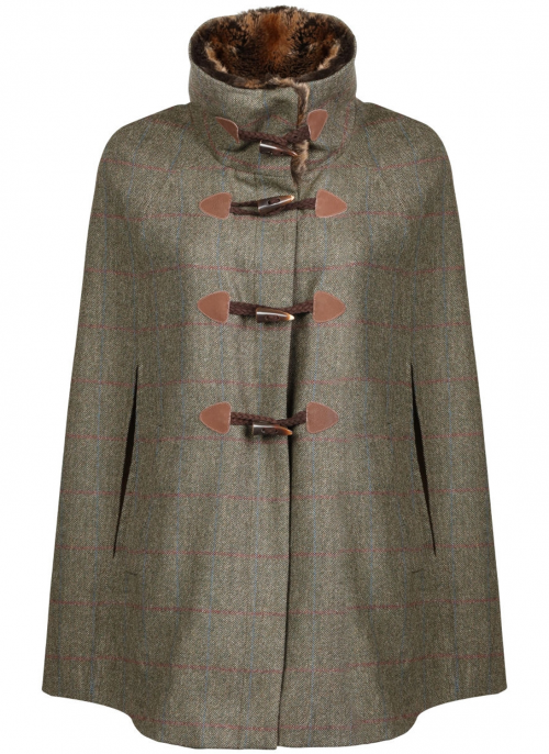 dubarry samphire tweed ladies cape