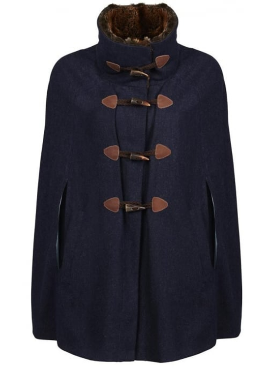dubarry samphire navy cape