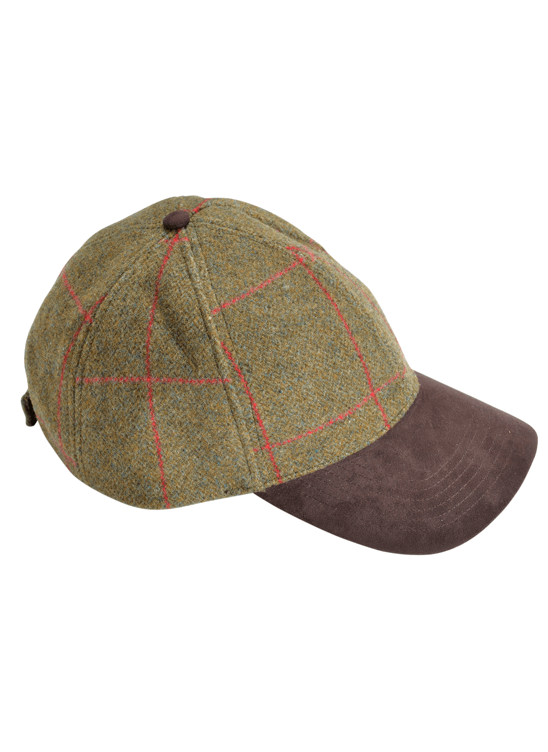 613d3a413ae4a Alan Paine Combrook Sage Tweed Baseball Cap - Bredon Hill Country