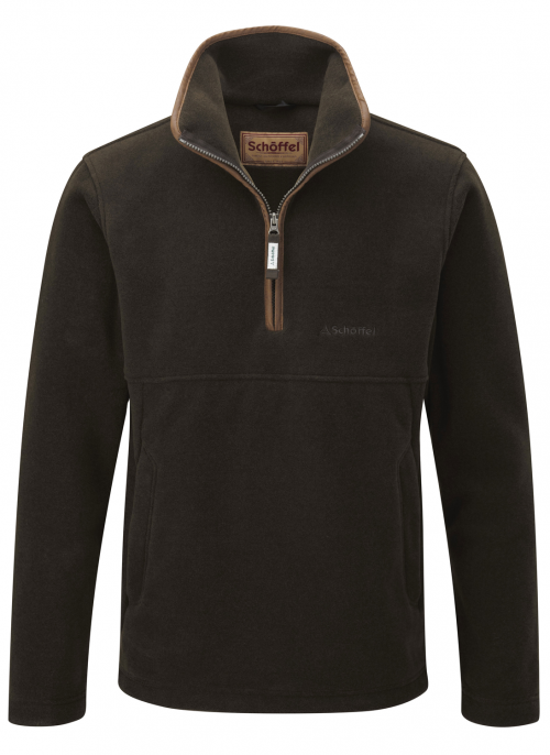 schoffel-berkeley-darkolive-fleece-jumper