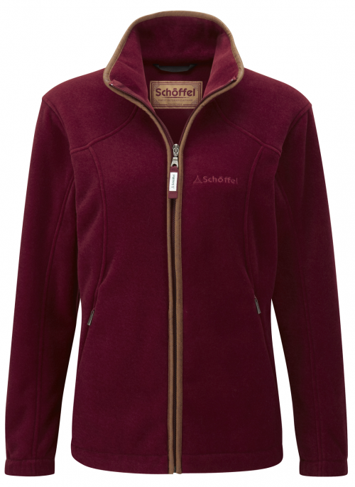 schoffel-burley-fleece-ruby-ladies-jacket
