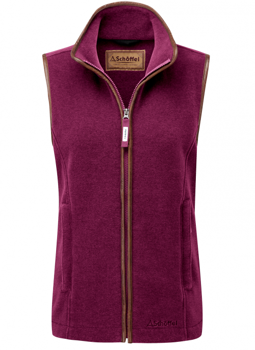 schoffel-lyndon-fleece-ladies-plum-gilet