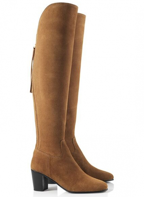fairfax-and-favor-tan-suede-ladies-heeled-boots