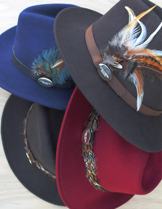 Ladies Felt Trilby Hats  169cb1634e2