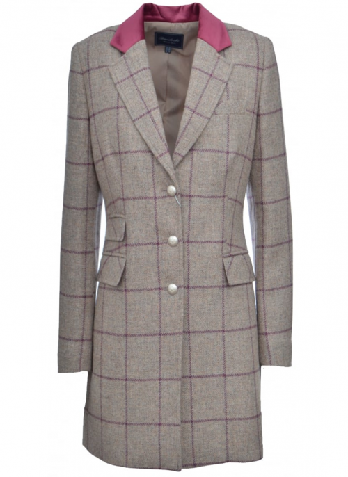 tweed coat gotemburgo