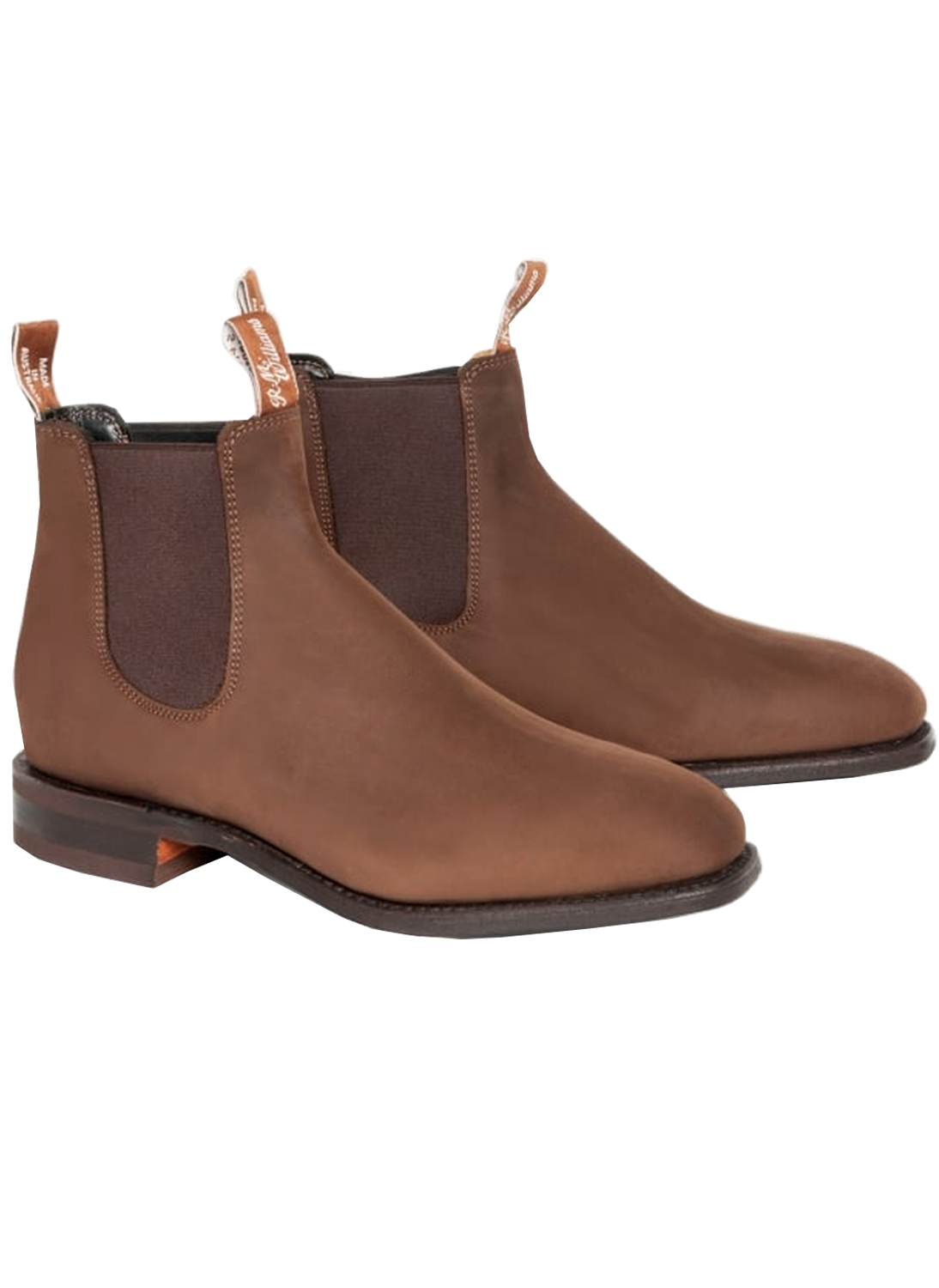 dff182aa9ae31 RM Williams Comfort Craftsman Nubuck Boots - Bredon Hill Country