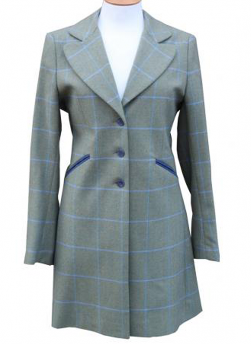 chrysalis tweed jacket in nil tweed
