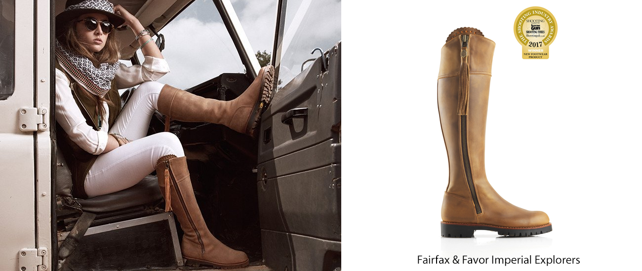 Fairfax and Favor Boots