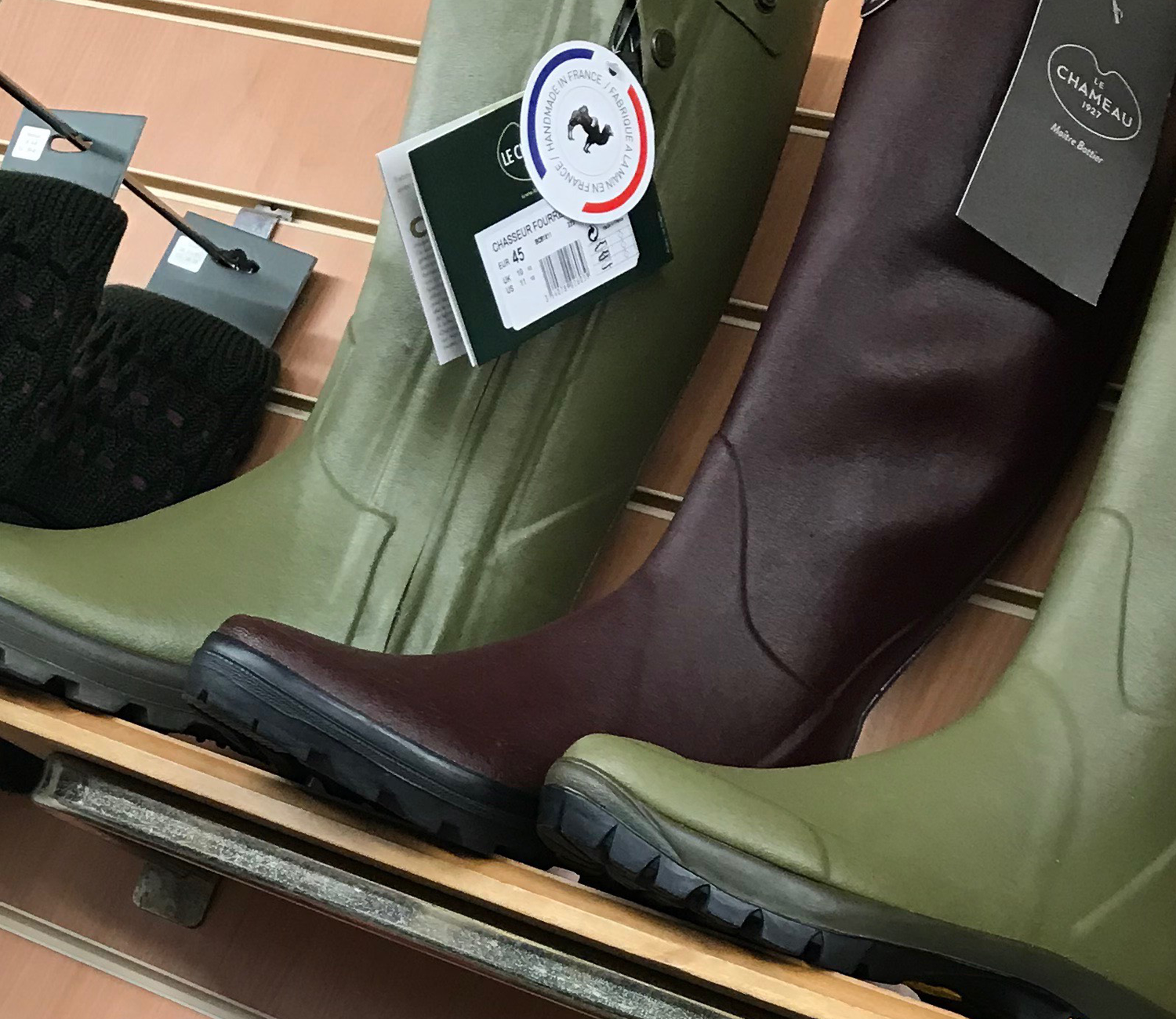 Le Chameau Boots Beat The Wet And Cold Weather