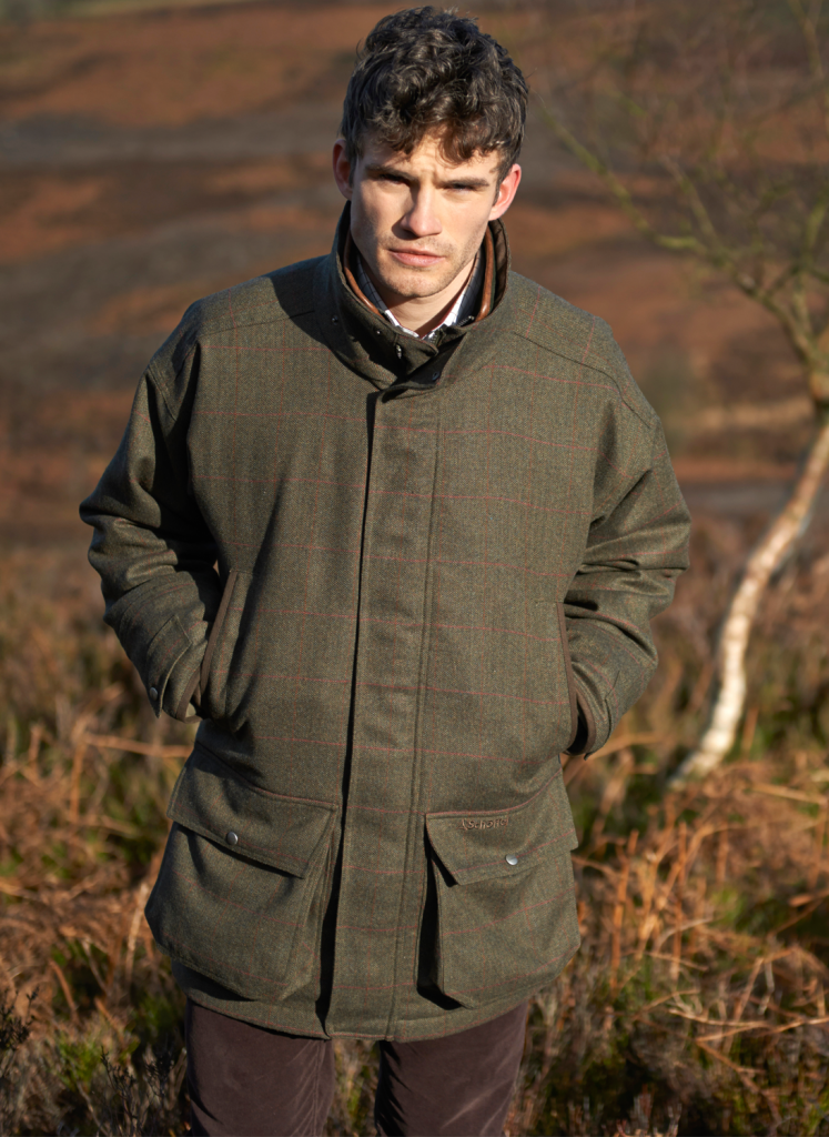 Schoffel Ptarmigan Windsor Tweed Shooting Coat Bredon