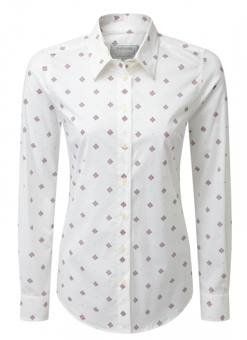 Schoffel fig bluebell ladies shirt