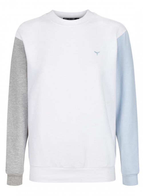 Whale of A Time Clothing Arnoux White Sweater