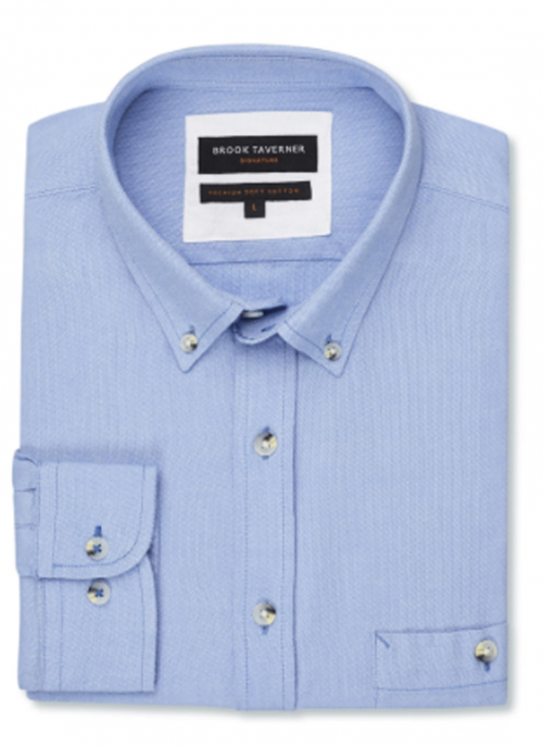 brook-taverner-danbury-oxford-blue-mens-tailored-shirt-bredonhillshooting