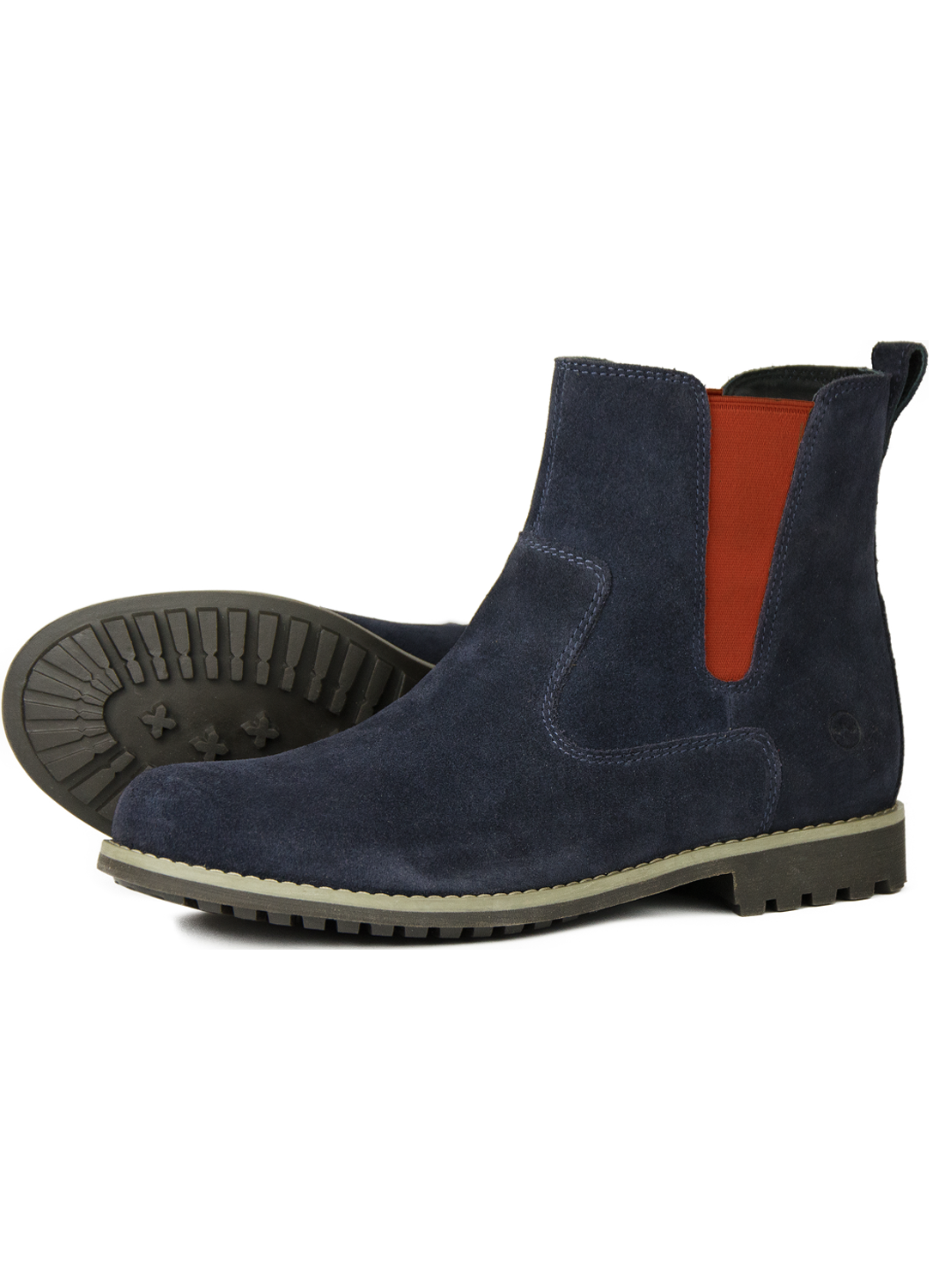 dada3f6c204 Orca Bay Cotswold Navy Red Suede Boots