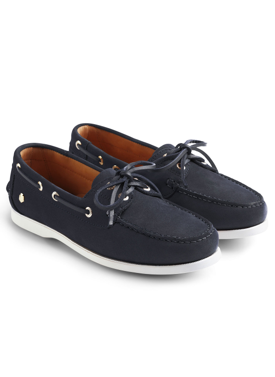 fairfax-and-favor-salcombe-navy-deck-shoes