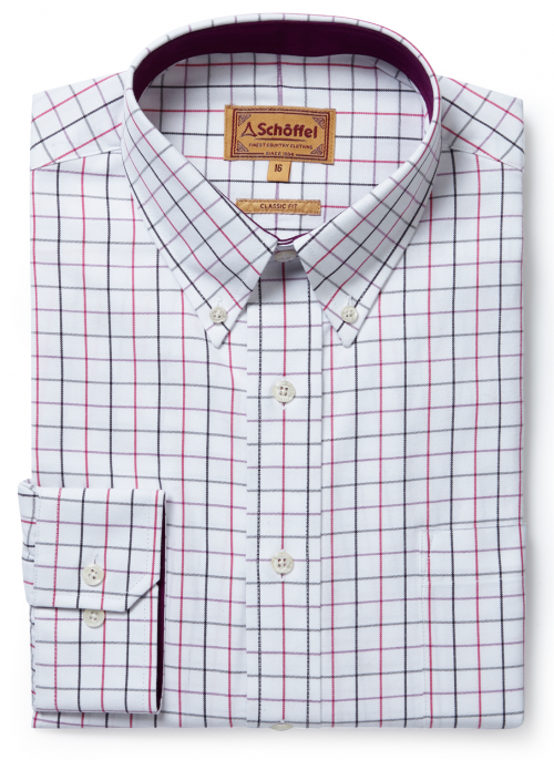 schoffel-banbury-mens-pink-grey-shirt