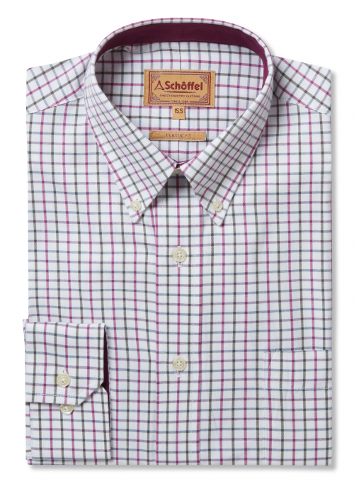schoffel-banbury-mens-pink-olive-cotton-shirt