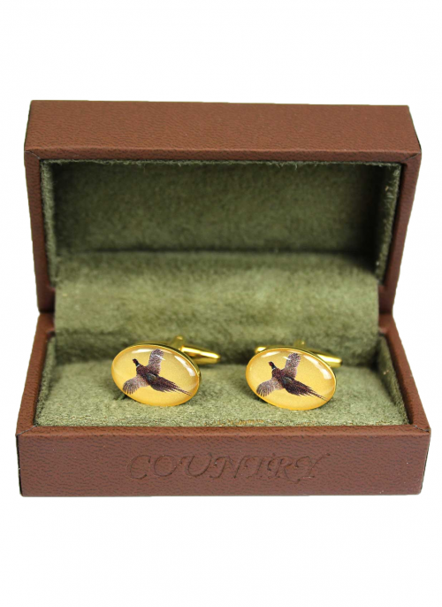 bredon-hill-flying-pheasant-cufflinks
