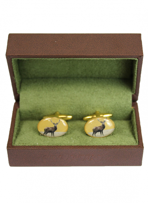bredon-hill-oval-stag-cufflinks