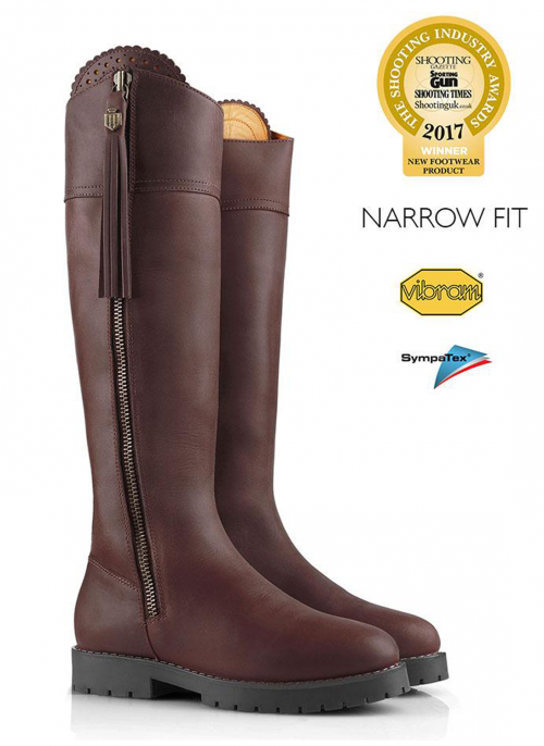 fairfax-and-favor-explorer-narrow-fit-mahogany-waterproof-boots