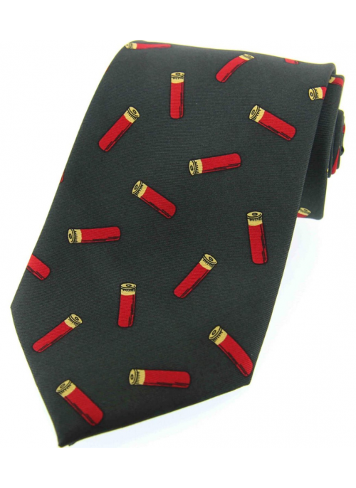soprano-green-tie-red-cartridge-silk-tie