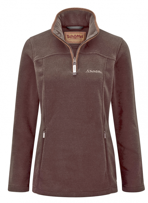 schoffel-tilton-fleece-mocha-ladies-jumper