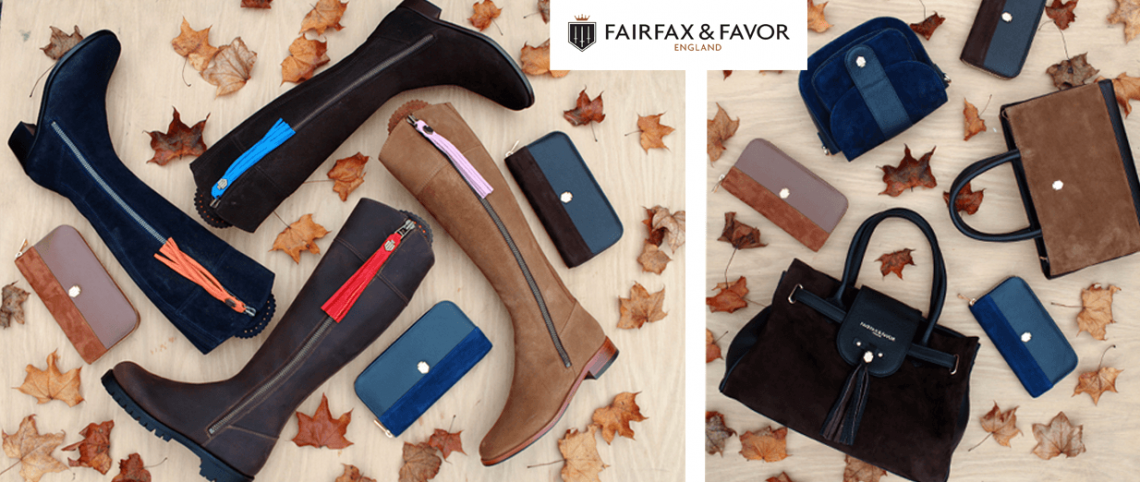 Fairfax and favor boots bags purses slide image