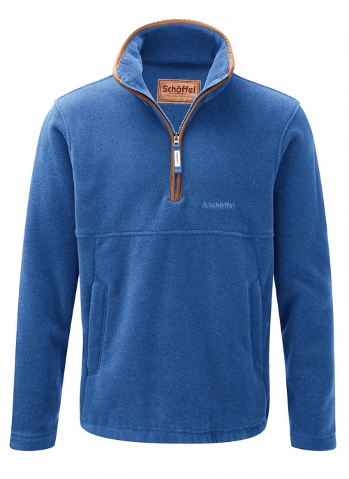 schoffel-berkeley-cobalt-blue-fleece-jumper